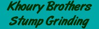 Khoury Brothers Stump Grinding (508) 922-3352